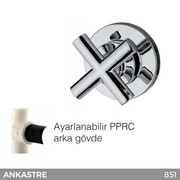 Ankastre Stop Valf