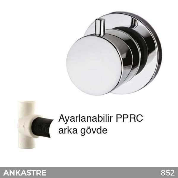 Ankastre Stop Valf 3/4