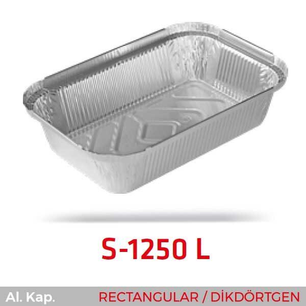 Alüminyum Kap S-1250-L