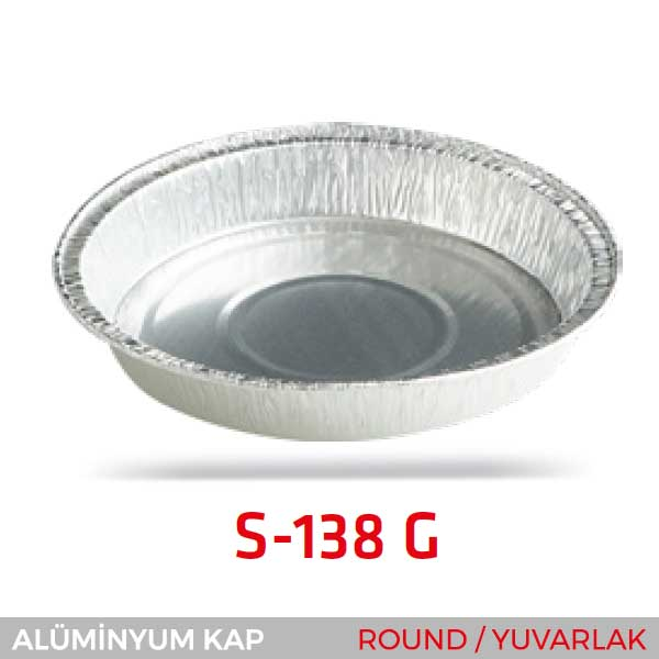 Alüminyum Kap S-138-G