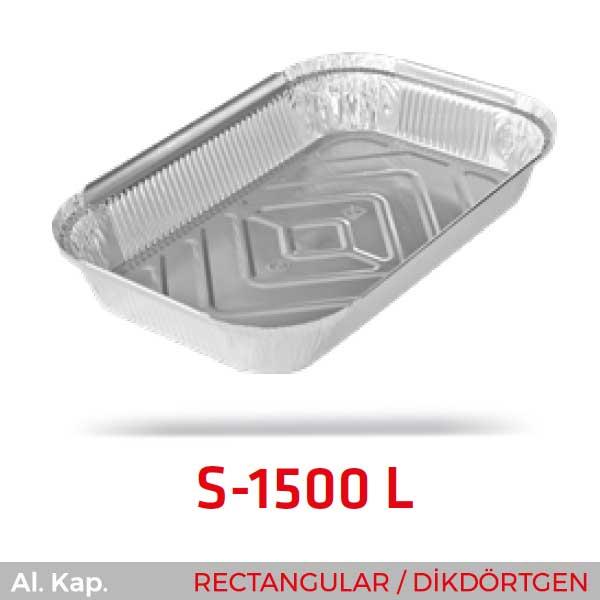 Alüminyum Kap S-1500-L