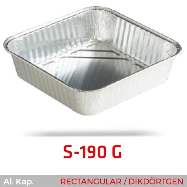 Alüminyum Kap S-190-G
