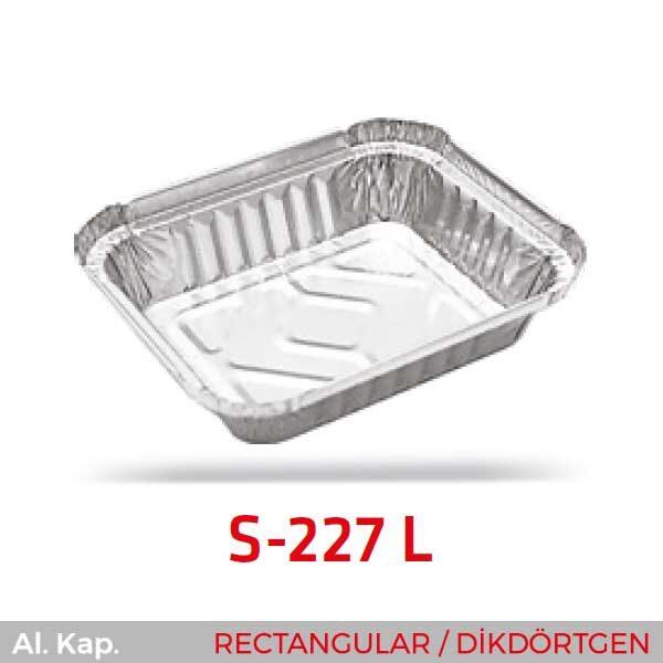 Alüminyum Kap S-227-L