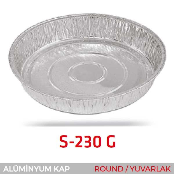 Alüminyum Kap S-230-G