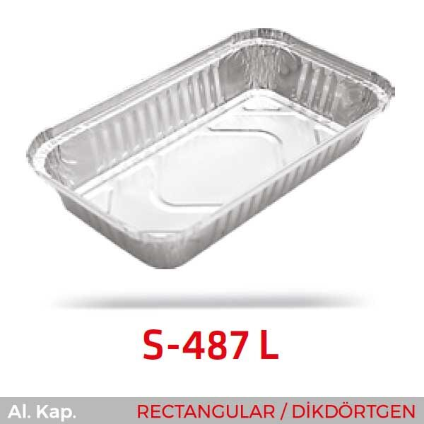 Alüminyum Kap S-487-L