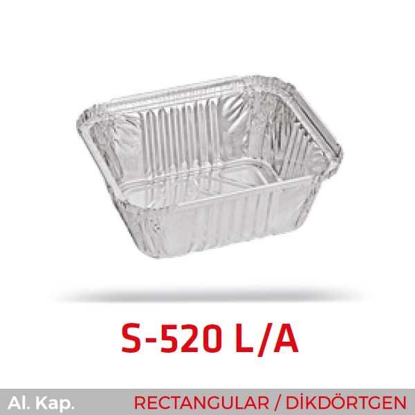 Alüminyum Kap S-520-L-A