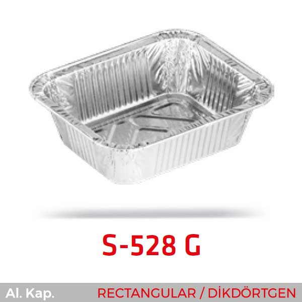 Alüminyum Kap S-528-G