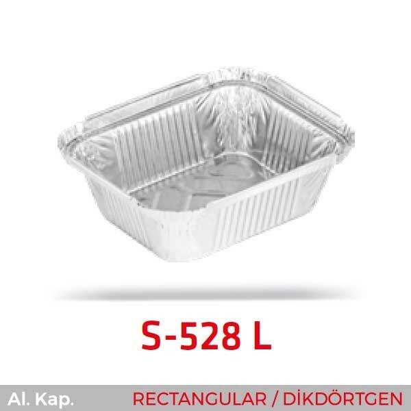 Alüminyum Kap S-528-L