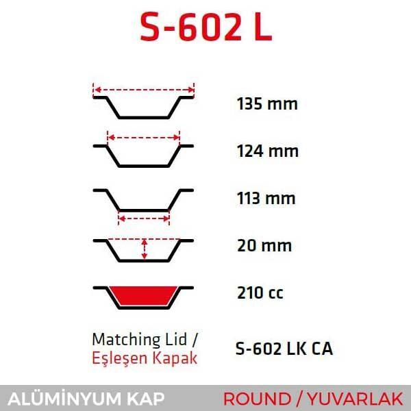 Round/Yuvarlak S-602-L-2