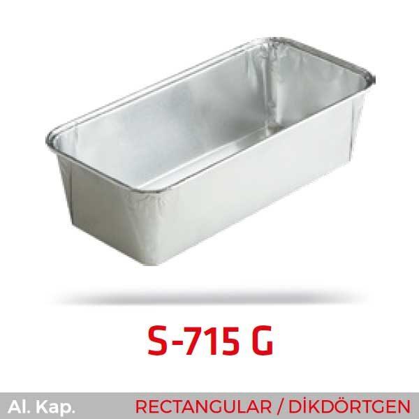 Alüminyum Kap S-715-G