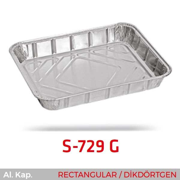 Alüminyum Kap S-729-G