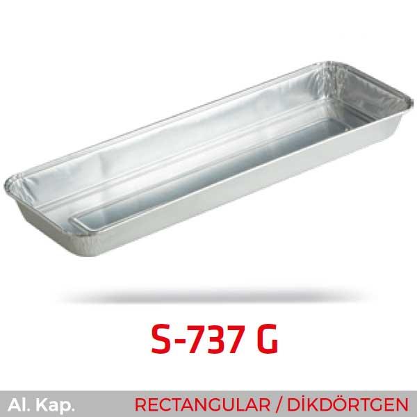 Alüminyum Kap S-737-G