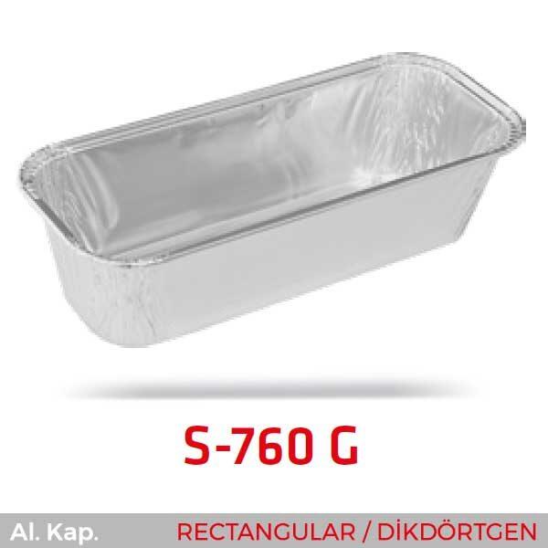Alüminyum Kap S-760-G