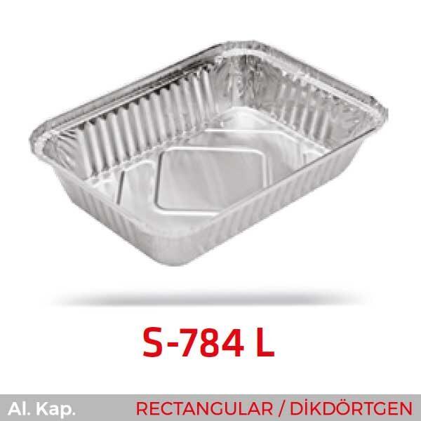 Alüminyum Kap S-784-L