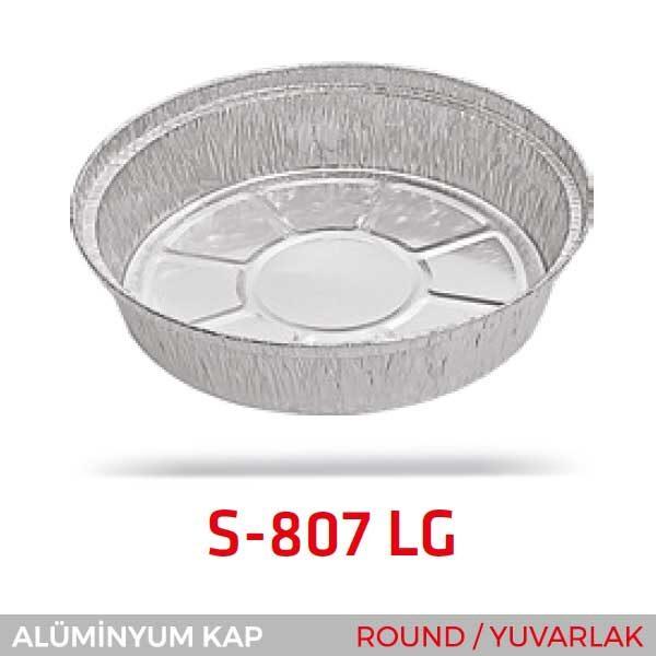 Alüminyum Kap S-807-LG