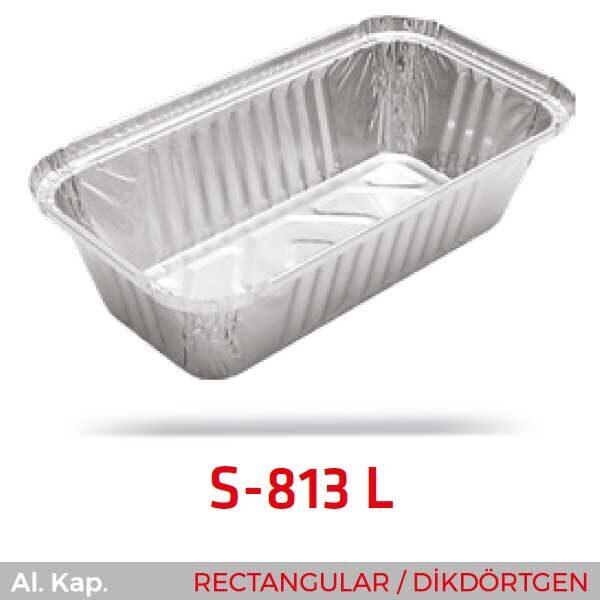Alüminyum Kap S-813-L
