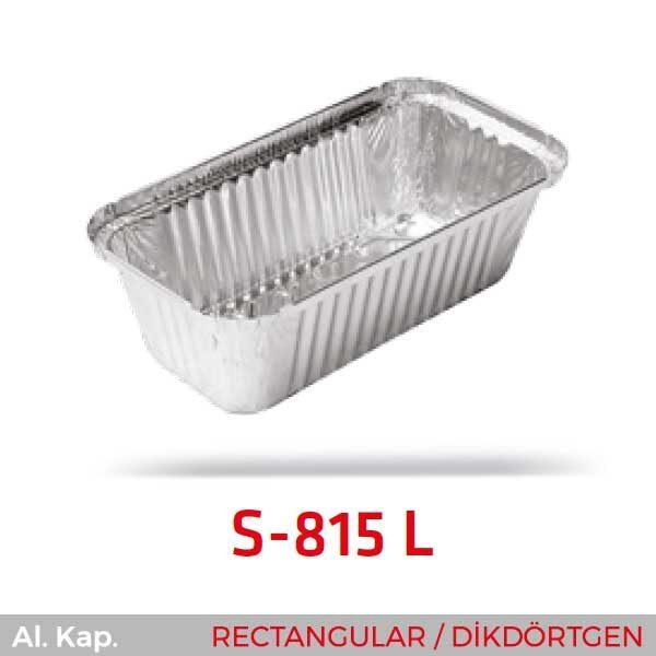 Alüminyum Kap S-815-L