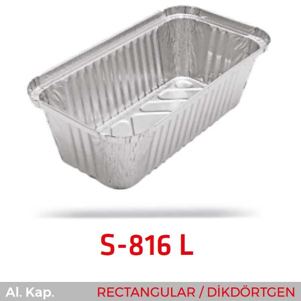 Alüminyum Kap S-816-L