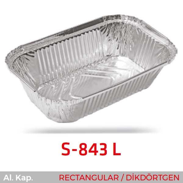 Alüminyum Kap S-843-L