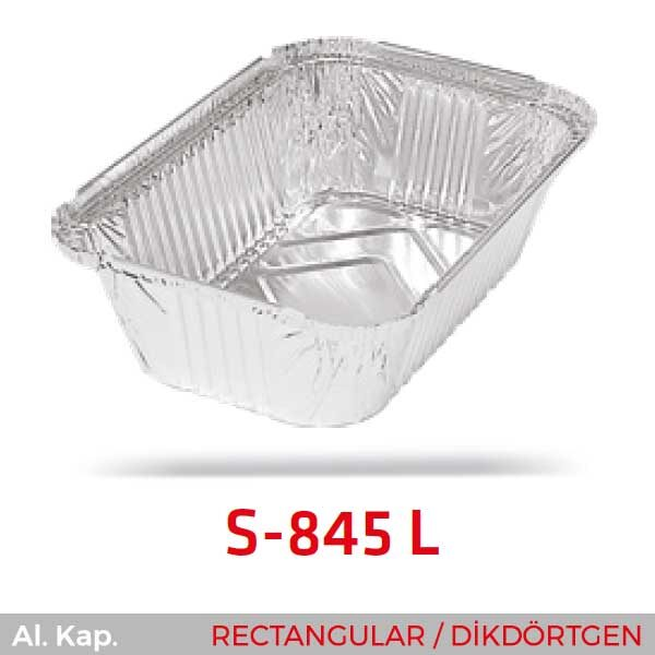 Alüminyum Kap S-845-L