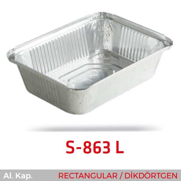 Alüminyum Kap S-863-L