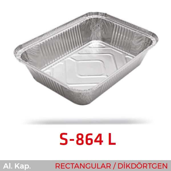 Alüminyum Kap S-864-L