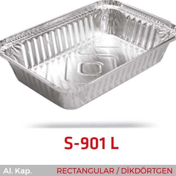 Alüminyum Kap S-901-L