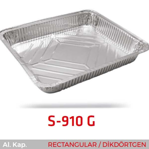Alüminyum Kap S-910-G