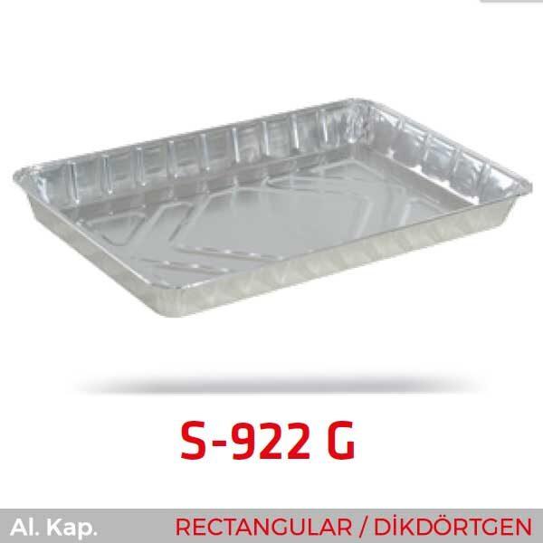 Alüminyum Kap S-922-G