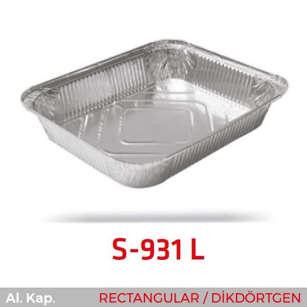 Alüminyum Kap S-931-L