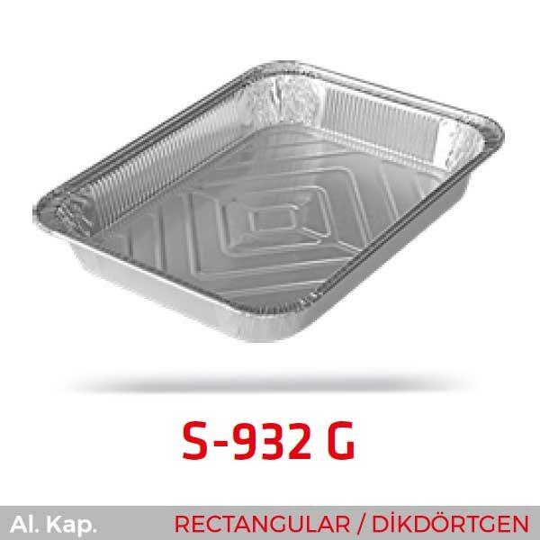 Alüminyum Kap S-932-G