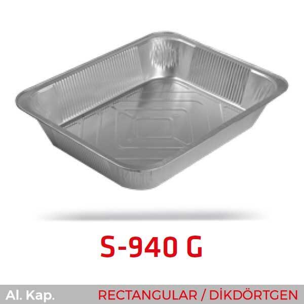 Alüminyum Kap S-940-G