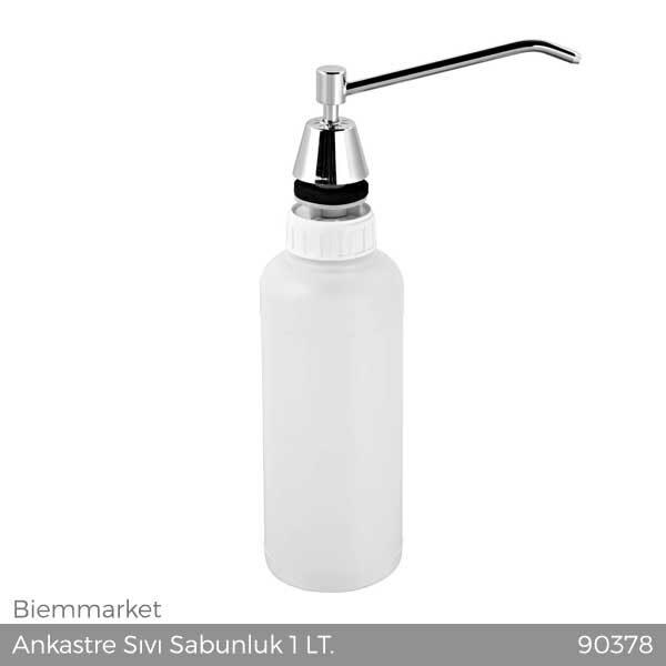 Ankastre Sıvı Sabunluk 1 LT